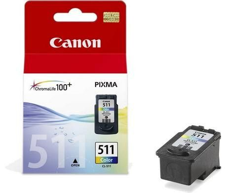 Original Canon CL-511 Tri-Colour Ink Cartridge