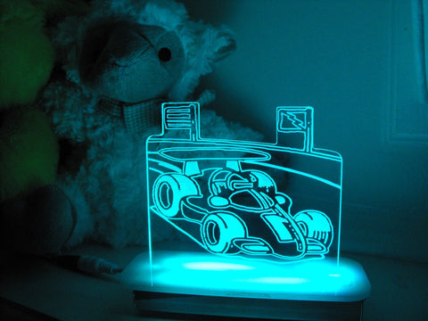 Speed the Race Car Night Light
