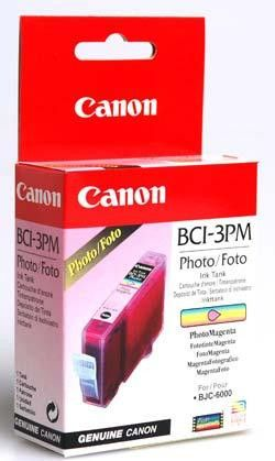 Original Canon BCI-3 Photo Magenta Ink Cartridge
