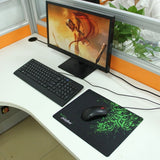 Slim Anti-Slip Razer Pattern Soft Rubber Smooth Cloth Surface Game Mouse Pad Mat Size: 317 x 244 x 2 mm