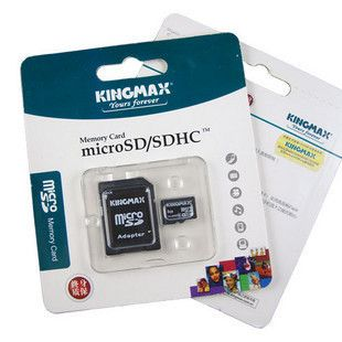 Micro Sd 1Gb Retail Pack Kingmax