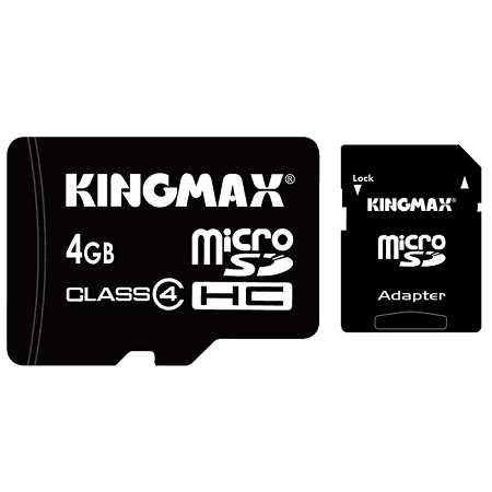 Kingmax 4Gb Micro Sd Cards