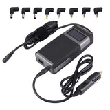 Laptop Notebook Power LCD Display 90W Universal Charger with Car Charger & AC Power Adapter & 8 Power Adapters & 1 USB Port for Samsung Sony Acer IBM HP Lenovo(Black)