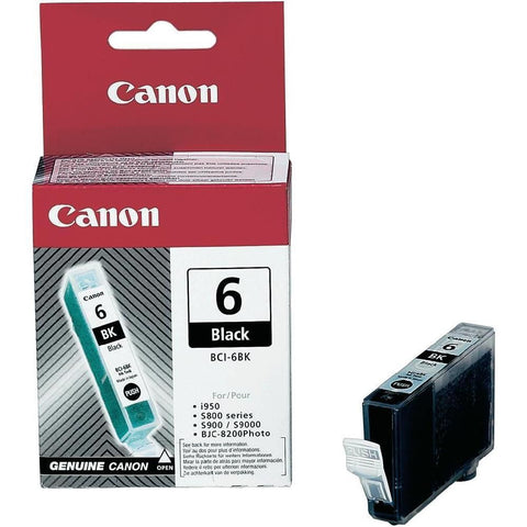 Original Canon BCI-6 Black Ink Cartridge