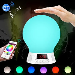 BL10 Bluetooth V4.0 Smart LED Bulb for iPhone 4s and Above Version / Android 2.3.3 and Above Version with LED Display Screen & Suspension Loop Support FM Radio / TF Card (Maximum 64GB ) / Pat Sensor Lights Change Color Function Effective Bluetooth Distanc