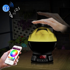 BL11 Bluetooth V4.0 Smart LED Bulb for iPhone 4s and Above Version / Android 2.3.3 and Above Version with LED Display Screen & Suspension Loop Support FM Radio / TF Card (Maximum 64GB ) / Pat Sensor Lights Change Color Function Effective Bluetooth Distanc