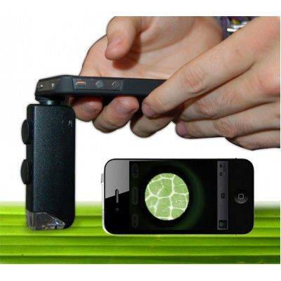 Microscope Lens for iPhone ® 4/4S (100x Zoom)
