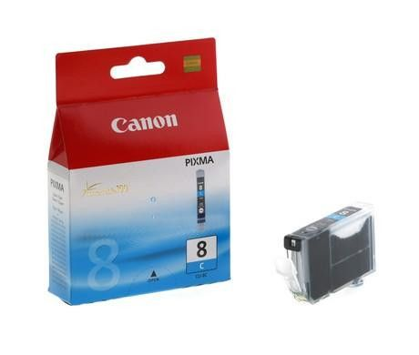 Original Canon CLI-8 Cyan Ink Cartridge