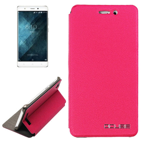 OCUBE Blackview A8 (MPH1001) Litchi Texture Horizontal Flip Leather Case with Holder(Magenta)