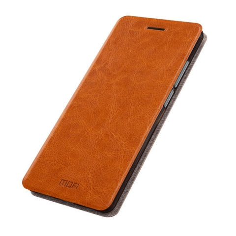 MOFI Huawei nova Crazy Horse Texture Horizontal Flip Leather Case with Holder(Brown)