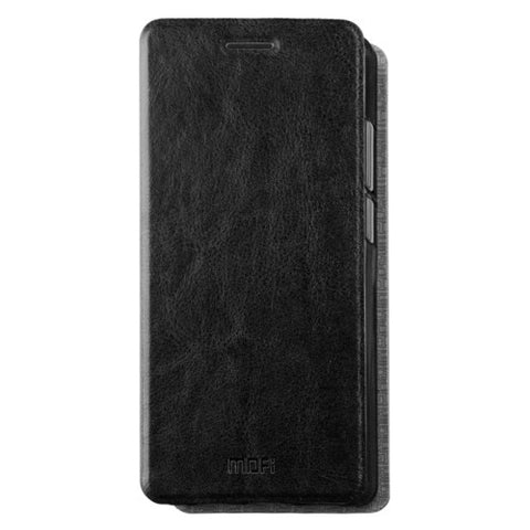 MOFI Huawei Mate 9 Crazy Horse Texture Horizontal Flip Leather Case with Holder (Black)