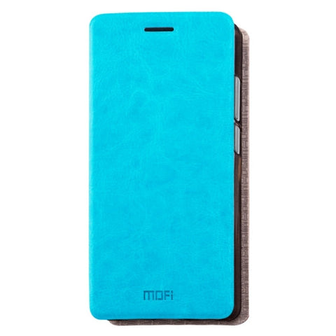 MOFI Huawei Mate 9 Crazy Horse Texture Horizontal Flip Leather Case with Holder (Blue)