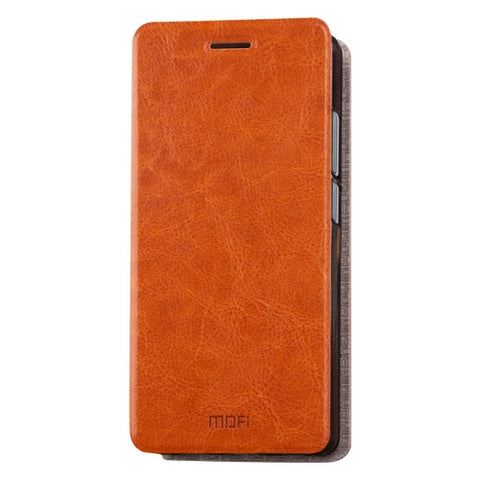 MOFI Huawei Mate 9 Crazy Horse Texture Horizontal Flip Leather Case with Holder (Brown)