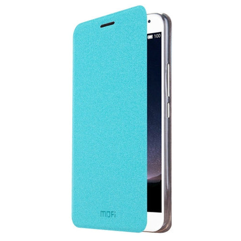 MOFI Meizu PRO5 Crazy Horse Texture Horizontal Flip Leather Case with Holder(Blue)