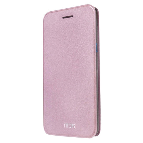 MOFI ZTE Blade A1 Crazy Horse Texture Horizontal Flip Leather Case with Holder(Rose Gold)