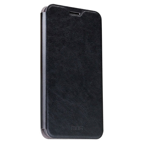 MOFI OPPO R9 Plus Crazy Horse Texture Horizontal Flip Leather Case with Holder(Black)