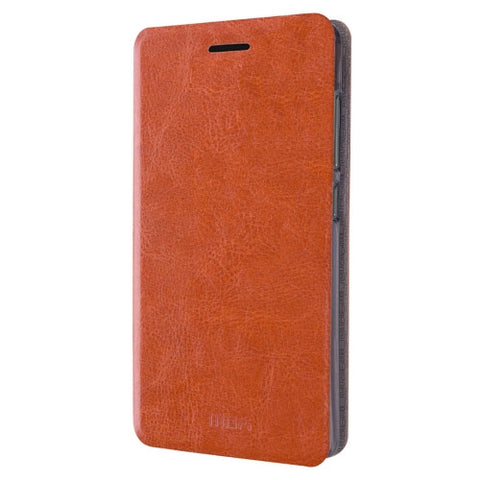 MOFI Xiaomi Redmi 3 Crazy Horse Texture Horizontal Flip Leather Case with Holder(Brown)