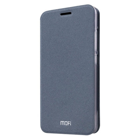 MOFI Xiaomi Mi 5 Crazy Horse Texture Horizontal Flip Leather Case with Holder(Grey)