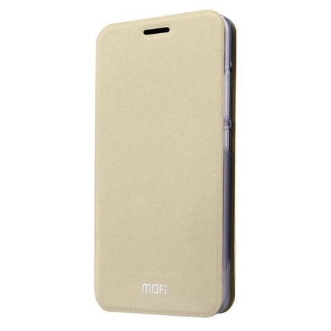 MOFI Xiaomi Mi 5 Crazy Horse Texture Horizontal Flip Leather Case with Holder(Gold)