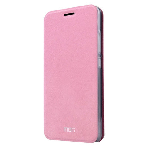 MOFI for Lenovo Lemon 3 Crazy Horse Texture Horizontal Flip Leather Case with Holder(Pink)
