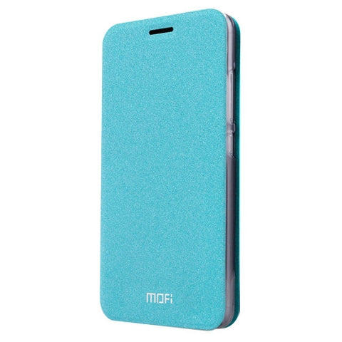 MOFI for Lenovo Lemon 3 Crazy Horse Texture Horizontal Flip Leather Case with Holder(Blue)