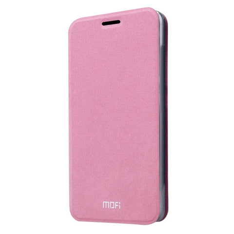 MOFI For LG G5 Crazy Horse Texture Horizontal Flip Leather Case with Holder(Pink)