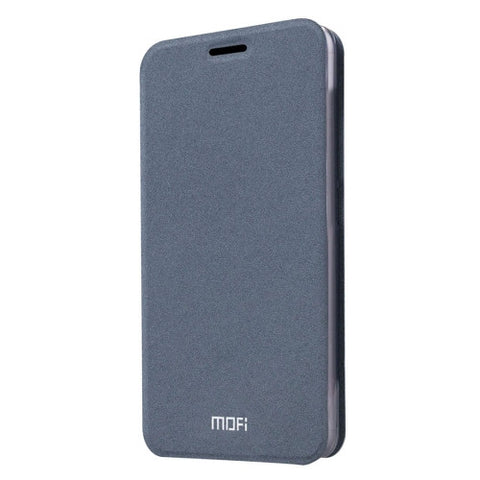 MOFI For LG G5 Crazy Horse Texture Horizontal Flip Leather Case with Holder(Grey)