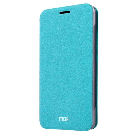 MOFI For LG G5 Crazy Horse Texture Horizontal Flip Leather Case with Holder(Blue)
