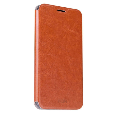 MOFI Letv Le Max 2 Crazy Horse Texture Horizontal Flip Leather Case with Holder(Brown)