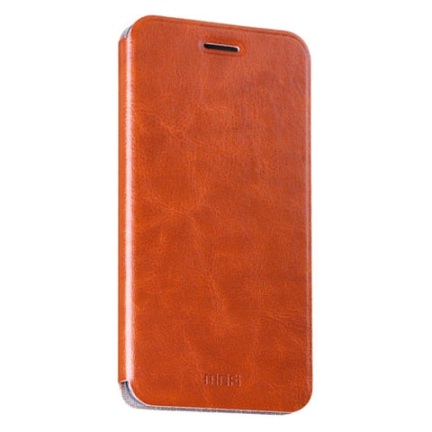 MOFI Xiaomi Redmi Note 4 Crazy Horse Texture Horizontal Flip Leather Case with Holder(Brown)