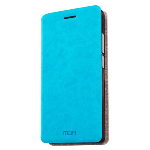 MOFI 360 QiKU N4A Crazy Horse Texture Horizontal Flip Leather Case with Holder(Blue)