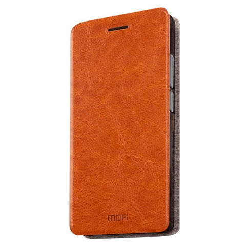 MOFI 360 QiKU N4A Crazy Horse Texture Horizontal Flip Leather Case with Holder(Brown)