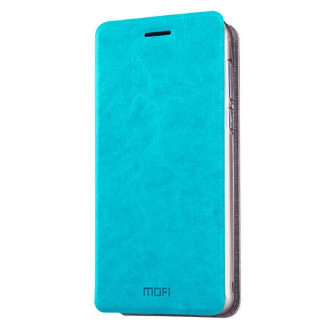MOFI Xiaomi Redmi Pro Crazy Horse Texture Horizontal Flip Leather Case with Holder(Blue)