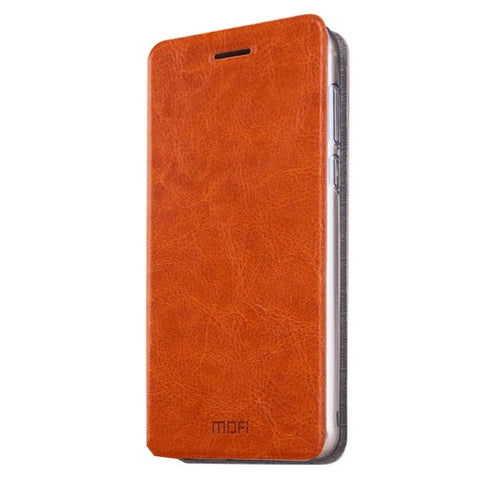 MOFI Xiaomi Redmi Pro Crazy Horse Texture Horizontal Flip Leather Case with Holder(Brown)