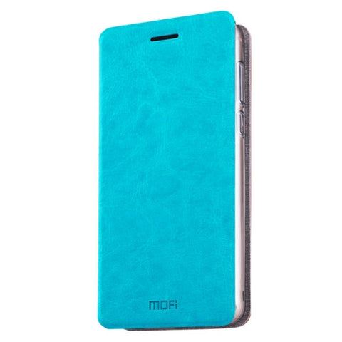MOFI Xiaomi Redmi 3X Crazy Horse Texture Horizontal Flip Leather Case with Holder(Blue)