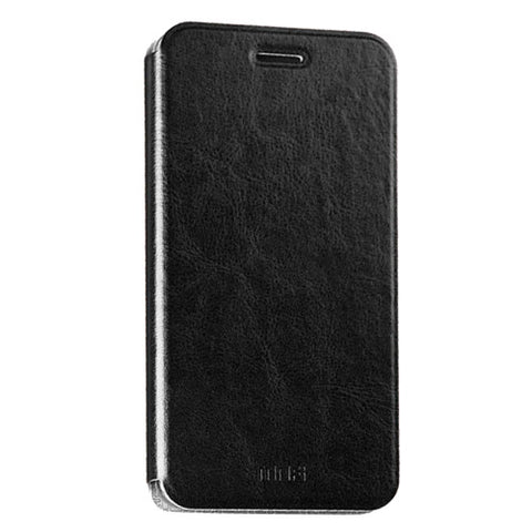 MOFI Huawei Honor 5 Crazy Horse Texture Horizontal Flip Leather Case with Holder(Black)