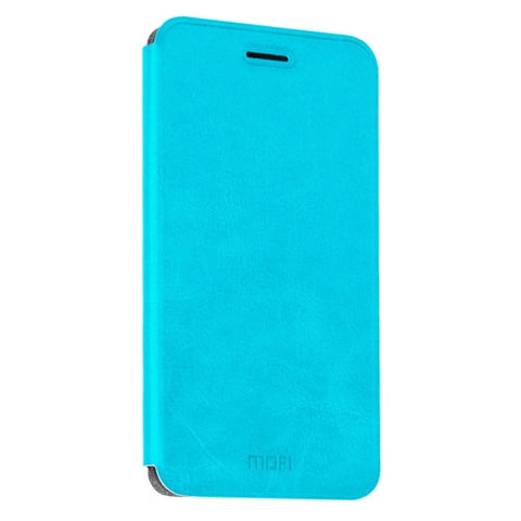 MOFI Huawei Honor NOTE 8 Crazy Horse Texture Horizontal Flip Leather Case with Holder(Blue)