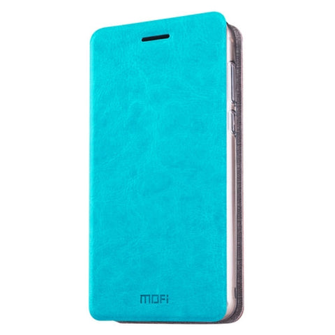 MOFI Meizu M3E Crazy Horse Texture Horizontal Flip Leather Case with Holder(Blue)