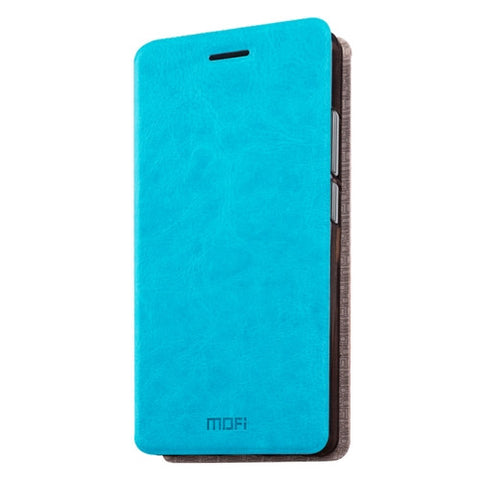 MOFI Letv Coolpad Cool1 dual (MPH1055) Crazy Horse Texture Horizontal Flip Leather Case with Holder(Blue)