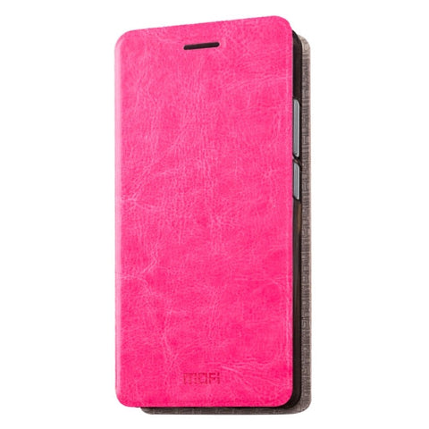 MOFI Letv Coolpad Cool1 dual (MPH1055) Crazy Horse Texture Horizontal Flip Leather Case with Holder(Magenta)