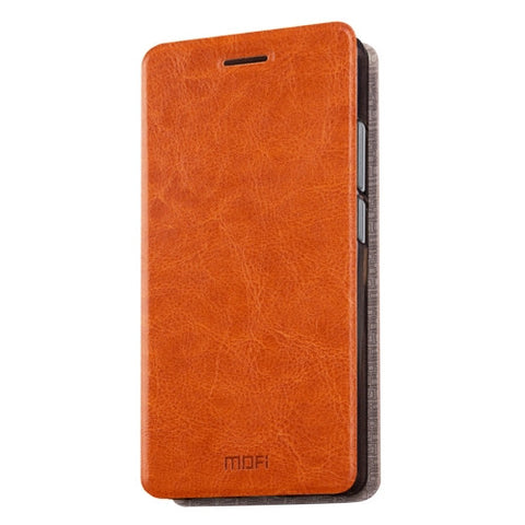 MOFI Letv Coolpad Cool1 dual (MPH1055) Crazy Horse Texture Horizontal Flip Leather Case with Holder(Brown)