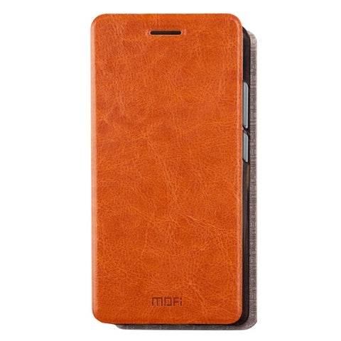 MOFI Xiaomi Redmi 4A Crazy Horse Texture Horizontal Flip Leather Case with Holder (Brown)