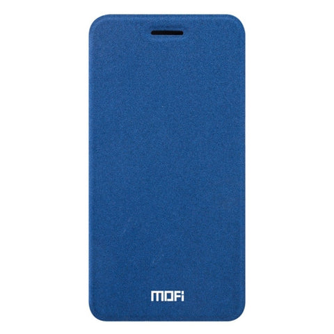 MOFI vivo X9 Crazy Horse Texture Horizontal Flip Leather Case with Holder (Dark Blue)