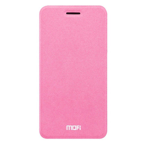 MOFI vivo X9 Crazy Horse Texture Horizontal Flip Leather Case with Holder (Pink)