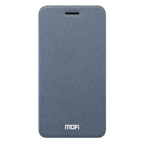 MOFI vivo X9 Crazy Horse Texture Horizontal Flip Leather Case with Holder (Grey)