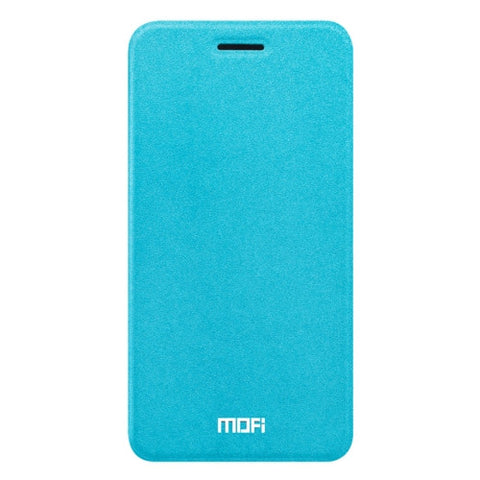 MOFI vivo X9 Crazy Horse Texture Horizontal Flip Leather Case with Holder (Blue)