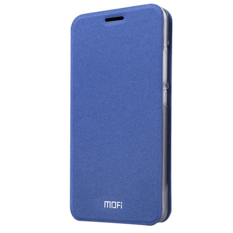 MOFI Xiaomi Mi 4S Crazy Horse Texture Horizontal Flip Leather Case with Holder(Dark Blue)