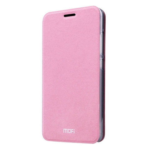 MOFI Xiaomi Mi 4S Crazy Horse Texture Horizontal Flip Leather Case with Holder(Pink)