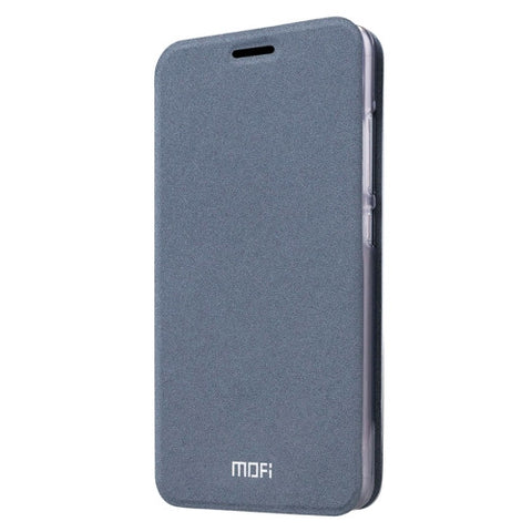 MOFI Xiaomi Mi 4S Crazy Horse Texture Horizontal Flip Leather Case with Holder(Grey)