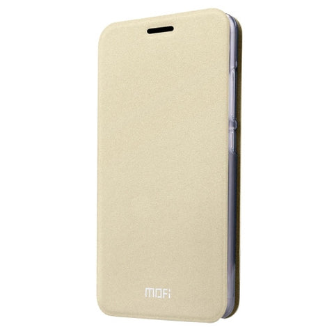 MOFI Xiaomi Mi 4S Crazy Horse Texture Horizontal Flip Leather Case with Holder(Gold)